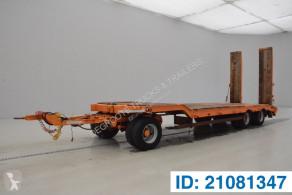 Remorca Müller Mitteltal Low bed trailer transport utilaje second-hand