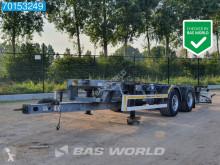 Konténerszállító pótkocsis szerelvény ZWF18 BDF 20ft Tandem-Anhänger