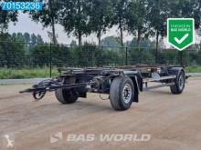 Remolque portacontenedores AFW 18 1x 20ft SAF BDF-Anhänger