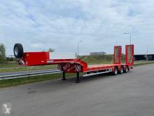Heavy equipment transport semi-trailer LW3 with hydraulic foldable ramps EU specs