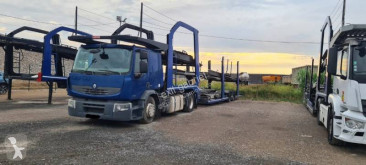 Ansamblu cap tractor si semiremorca Renault Premium 430 pentru transport autovehicule second-hand