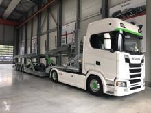 Ensemble routier Scania porte voitures occasion