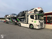 Scania G 500 tractor-trailer used car carrier