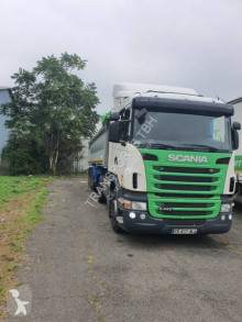 Scania G 440 tractor-trailer used construction dump