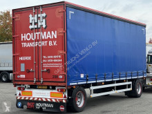 Fruehauf SCHAMEL AANHANGWAGEN MET SCHUIFZEILEN trailer used tautliner