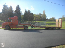 Scania R420 tractor-trailer used heavy equipment transport