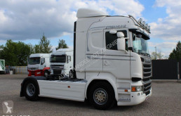 Voir les photos Ensemble routier Scania R450 /EURO 6 /LODÓWKA/ STANDARD /RETARDER/ HYDRAULIKA HYVA /**SERWIS**/ STAN IDEALNY /