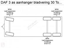 Voir les photos Remorque DAF 3 as aanhanger bladvering 30 Ton totaal