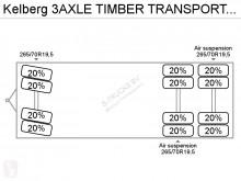 Voir les photos Remorque nc TIMBER TRANSPORT TRAILER