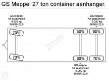 Fotoğrafları göster Römork GS 27 ton container aanhanger.