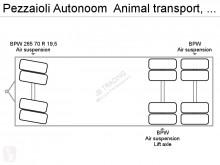 Vedere le foto Autoarticolato Pezzaioli Autonoom  Animal transport, 3 layers, Manual, Retarder, Airco, Standairco, Combi