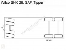 Voir les photos Remorque Wilco SHK 28, SAF, Tipper