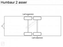 Vedere le foto Autoarticolato Humbaur 2 asser