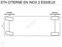 Vedere le foto Autoarticolato ETA CITERNE EN INOX