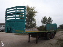 Cardi S 67 semi-trailer used flatbed