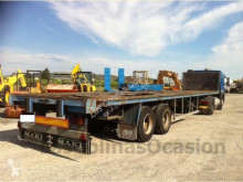 Trouillet dropside flatbed semi-trailer