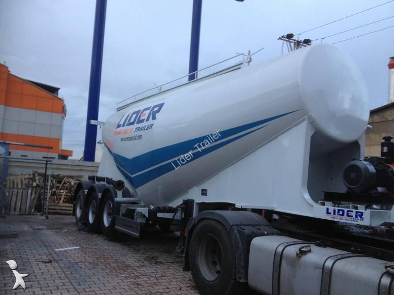 Voir les photos Semi remorque Lider 2015 New Bulk Cement Trailer (35 M³)