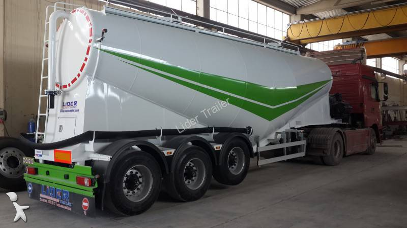 View images Lider 35 M3 Bulk Cement Trailer semi-trailer