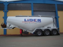 Полуремарке Lider 29 M3 Bulk Cement Trailer цистерна нови