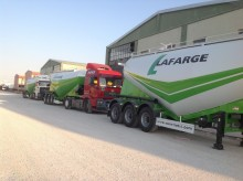 نصف مقطورة Semi Lider 45 M3 Bulk Cement Trailer