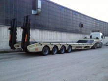 نصف مقطورة Semi Lider Lowbed ( 4 Axles - 70 Tons )