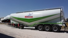 Lider 60 M3 ciment en vrac Remorque semi-trailer new concrete