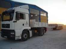 Trailer platte bak Lider EXTENDABLE FLATBED SEMI TRAILER