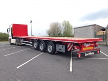 Leciñena Neuf, plateau charges ponctuelles, semi-trailer new flatbed