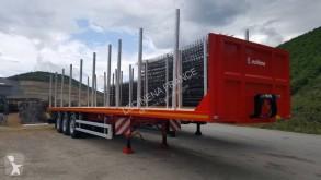 Leciñena Neuf, plateau porte bois, semi-trailer new flatbed