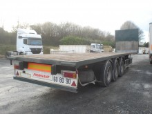 Fruehauf PLATEAU 3 ESSIEUX AIR semi-trailer used flatbed