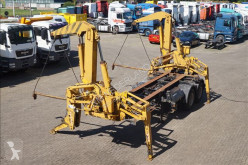 Klaus Side loader 22 ton 20ft Steel suspension / with its own engine semi-trailer