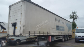 Samro ST39VK semi-trailer used tautliner