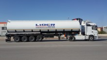 Lider chemical tanker semi-trailer Fuel Tanker (44000 Lt / 4 Axles)