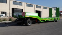 Semi remorque Lider Lowbed ( 2 Axles ) porte engins neuve