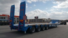 Lider heavy equipment transport semi-trailer Lowbed ( 4 Axles )