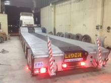 Semi remorque porte engins Lider Lowbed Prolongable ( 5 Axles )