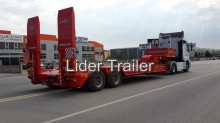 Lider heavy equipment transport semi-trailer Lowbed ( Tandem / 16 Tyres