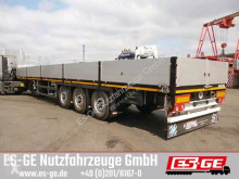 Faymonville 3-Achs-Sattelauflieger semi-trailer used flatbed