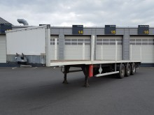 Trouillet flatbed semi-trailer ST3350