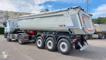 Semirremolque volquete benne TP Schmitz Cargobull SKI DISPO Benne acier 3 essieu,HARDOX,toute équipée,pour appro,enrobés,tp...