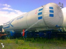 Crylor gas tanker semi-trailer gas, methane, LNG