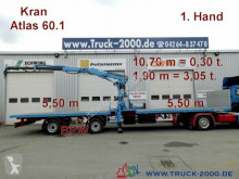 Kramer Atlas 60.1 Kran SpezialTransport f.Container usw semi-trailer used flatbed