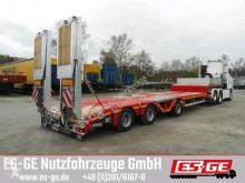 Faymonville Auflieger Pritsche 3-Achs-Satteltieflader - tele - Radmulden