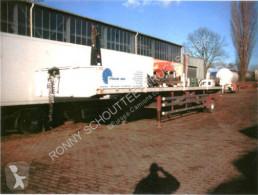 Reisch flatbed semi-trailer RPS -9/5 Mega Jumbo