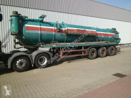 Nc SAnh - MABO 3-A-Saugauflieger 25000ltr, BPW semi-trailer used tanker