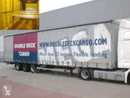 Yarı römork Hoffmann HSE - HSE, Jumbo, Mega sürgülü tenteler (plsc) ikinci el araç