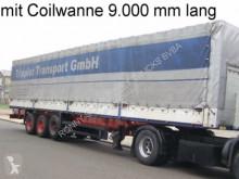Félpótkocsi Schmitz Cargobull S 01 használt plató