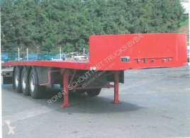 Flatbed semi-trailer SAnh DL 1 TONHOFER DL1 Plattform-Auflieger
