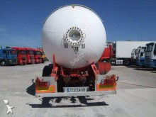 Robine semi-trailer used gas tanker
