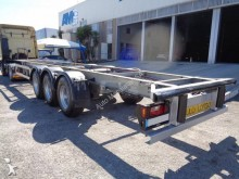 Used chassis semi-trailer Lecitrailer LTP-3ES EM CHASSI 3EIXOS